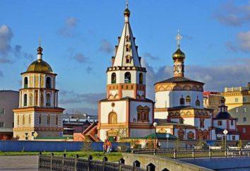 Irkutsk, Cattedrale dell'Epifania: la storia, l'indirizzo, descrizione e foto