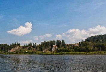 Lago Chusovsky. Pesca na região de Perm