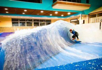 Surfar em Moscou: formação em ondas artificiais