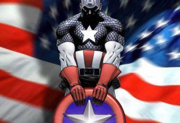 Captain America: Le costume et sa description