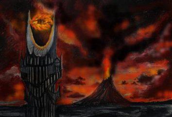La torre di Sauron in giochi per computer