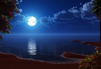 Dzień księżycowy. Charakterystyka nocnego kalendarza światła