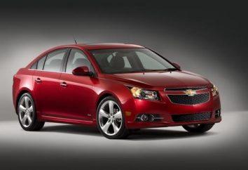 distancia al suelo del automóvil Chevrolet Cruze
