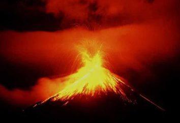 La estructura de volcanes. Clases y tipos de erupciones. ¿Qué es un volcán?