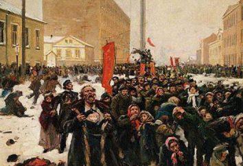 9 janvier 1905 – Bloody Sunday (brièvement sur). histoire