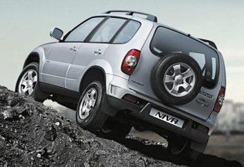 Poids spécifications voiture « Chevrolet Niva », descriptions et commentaires