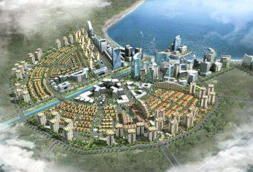 Miasta satelitarne. Satelitarne miasto Bangkoku. Miasta satelitarne w Mińsku