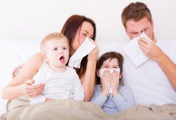 Grypa: rodzaje grypy, objawy, leczenie, profilaktyka