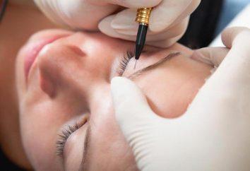 Jak dbać o brwi po tatuażu brwi?