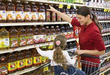 prodotti socialmente importanti. Decreto governativo sui principali generi alimentari