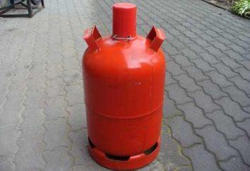 Quando l'uso del cilindro gas per uso domestico