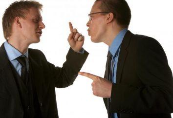 conflitto giuridico – uno scontro di interessi
