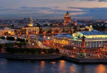 Le centre historique de Saint-Pétersbourg: la description et la photo. Sites du patrimoine mondial de l'UNESCO