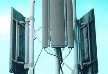 Antena para comunicações celulares. Antena para melhorar a comunicação celular