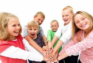 Lista de buenas acciones para los niños de primaria