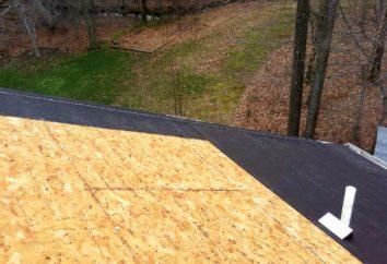 Tecnologia colocar um telhado macio: como montar evroruberoid