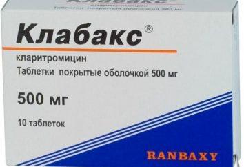 """Antybiotyk """"Klabaks"""": instrukcje użytkowania"""