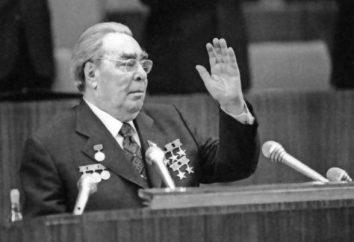 L. I. Brezhnev: funeral, data, foto