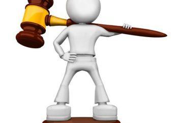 GPK: giurisdizione. Norme di competenza (codice di procedura civile della Federazione Russa)