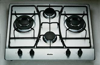 Jak zbudować piec gazowy we wnętrzu. kuchenka dwupalnikowa płyta gazowa osadzone