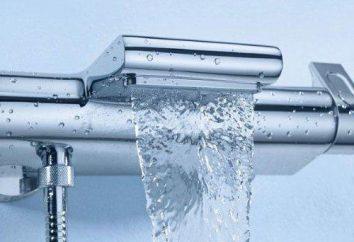 Bateria termostatyczna natryskowa: model urządzenia, zasady działania, opinie