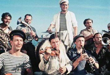 « Le marin avec les » Comètes « : les acteurs et les rôles. le film