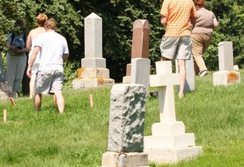 Wenn sie auf den Friedhof gehen, um die Toten zu ehren?