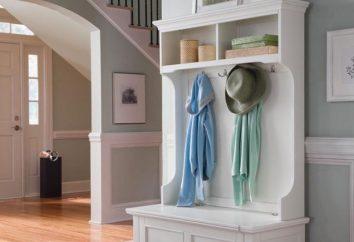 appendiabiti a muro nel corridoio – un mobile necessaria in ogni casa