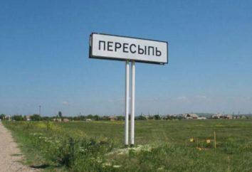 De férias para o Mar de Azov. Peresyp: atrações e praias
