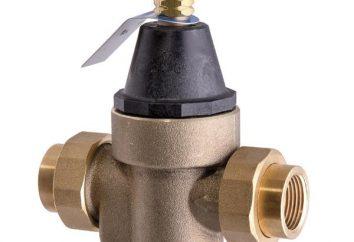 riduttore di pressione: l'uso e caratteristiche