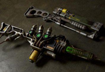 Energii i osocza broni. Obiecujące rozwoju broni