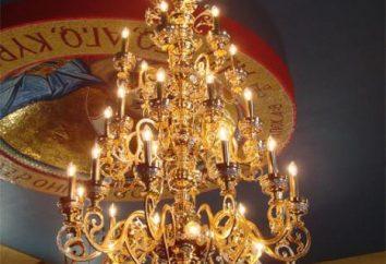 placa de la iglesia en la iglesia ortodoxa