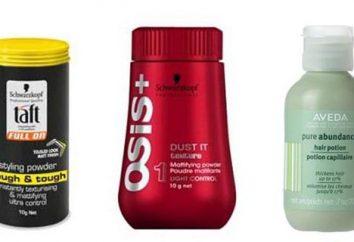 Pulver für die Haare. Pulverisierte Haarbleichmittel: Empfehlungen für die Auswahl und Bewertungen