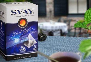 Thé Svay: description des variétés