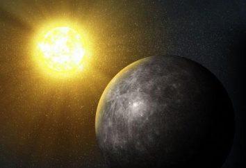 atmosfera Merkurego: skład. Jaka jest atmosfera w Merkurym?