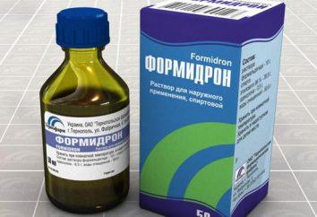 """Medycyna """"Formidron"""": instrukcje użytkowania"""