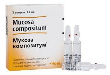 """Medicament """"Muqueuse compositum"""" – un excellent remède pour l'inflammation et les infections"""