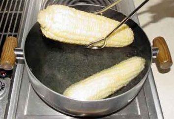 Come a bollire il mais: regole semplici