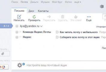 """Incapaz de recibir el correo en el correo, """"Yandex"""" – ¿qué hacer?"""