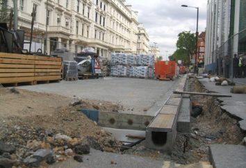 Plateaux de drainage en béton armé: Caractéristiques