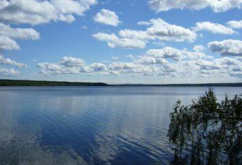 Lago Nakhimovskoe – um reservatório na região de Leningrado