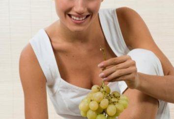 ¿Cuál es la dieta de la uva?