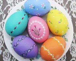 pomysły Piggy: jak malować jajka na Wielkanoc
