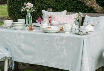 Tischtücher eigene Hände. Wie man eine schöne Tischdecke mit eigenen Händen näht