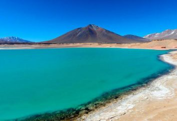 O lago mais alta altitude no mundo. lagos alpinos em diferentes partes do mundo