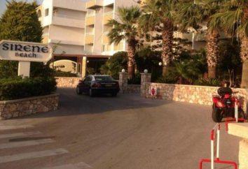 Plage Hôtel 4 sirene * (Grèce, Rhodes): description de l'hôtel, les services, les commentaires