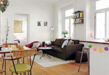 """Apartment- """"evrodvushka"""": la pianificazione, caratteristiche di design e interior design"""