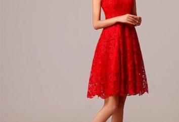 Le cas échéant la robe rouge? Ce qui se combinent robe rouge: les meilleures idées, recommandations et commentaires