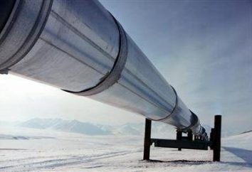 Gas-Pipeline nach China. Design und Diagramm einer Gaspipeline nach China