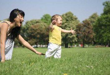Quantos meses a criança começou a andar é uma questão importante!